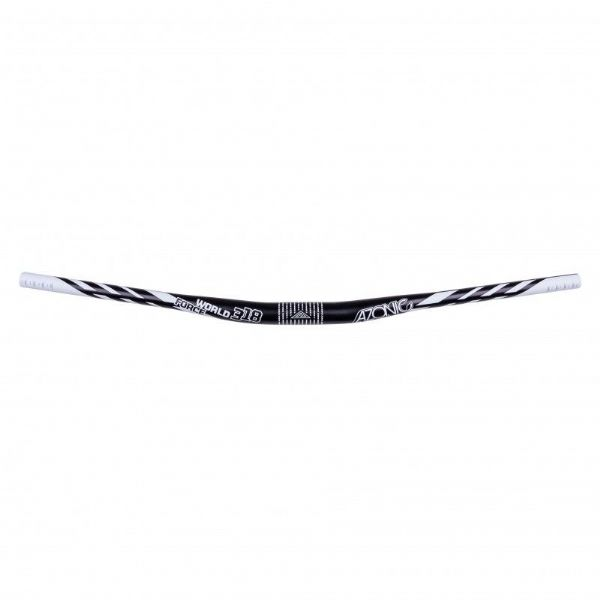 Azonic World Force Handlebar 31.8 x 18mm (black and white)